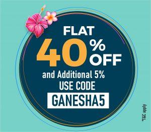 Ganesh Chathurthi 5% offer